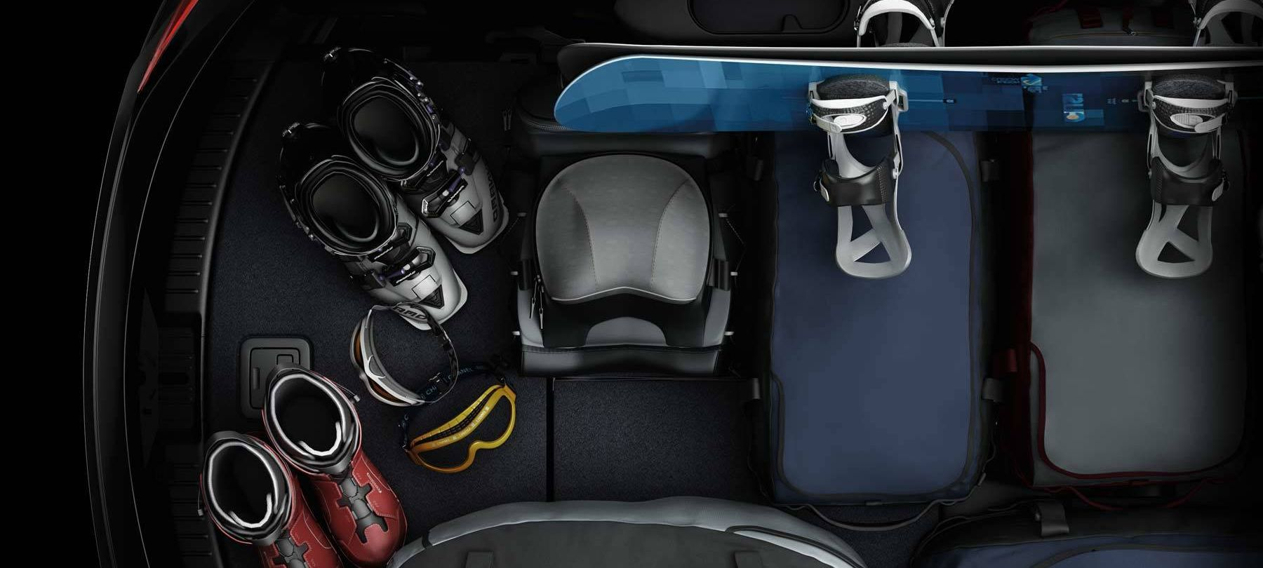 Store the Essentials in the Mazda CX-9