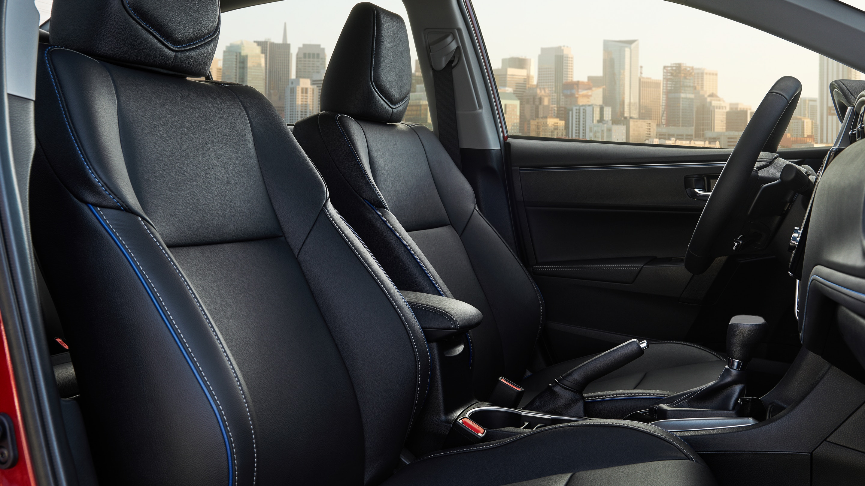 2019 Toyota Corolla SofTex-Trimmed Seating