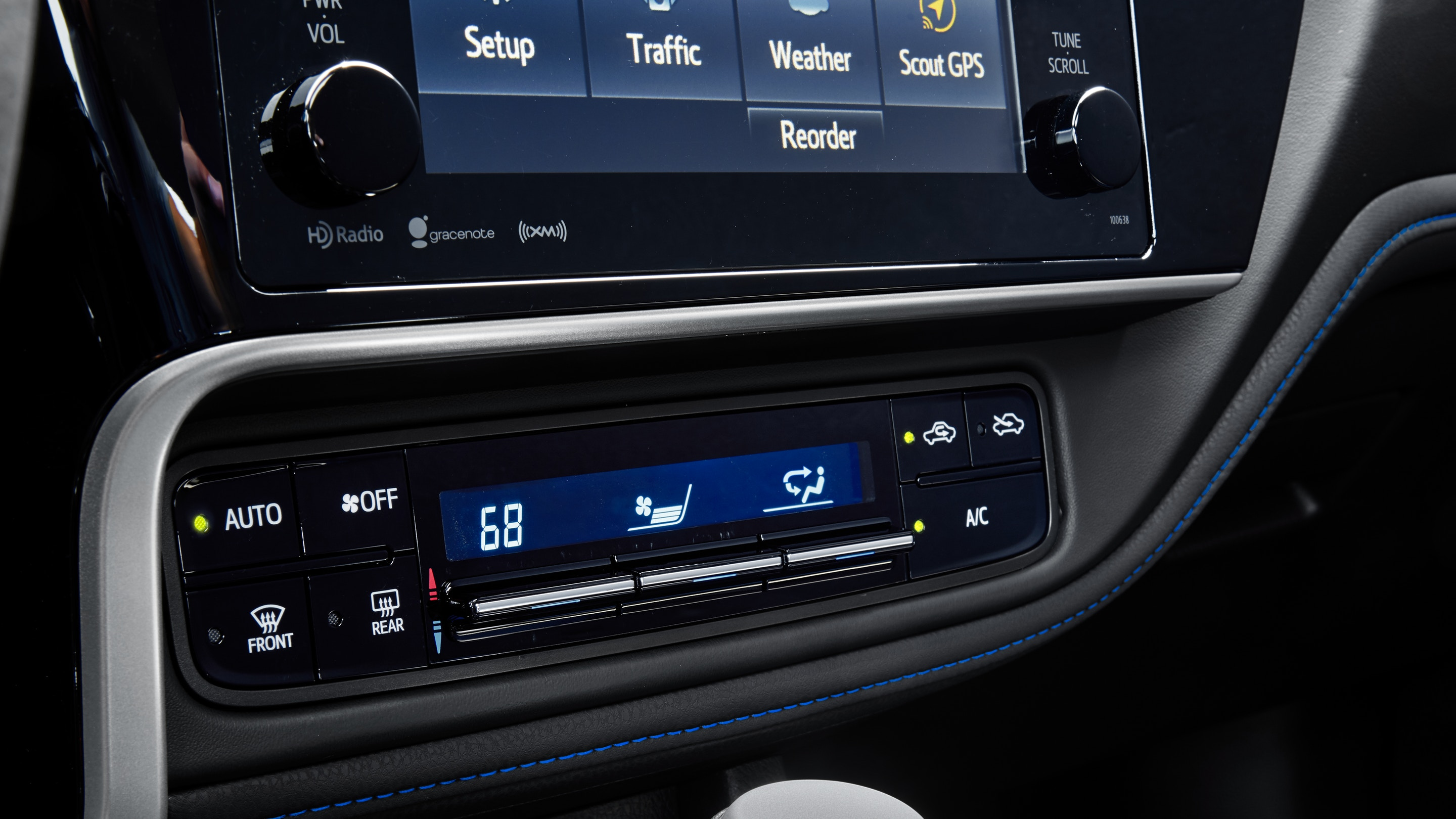 2019 Toyota Corolla Dashboard Features