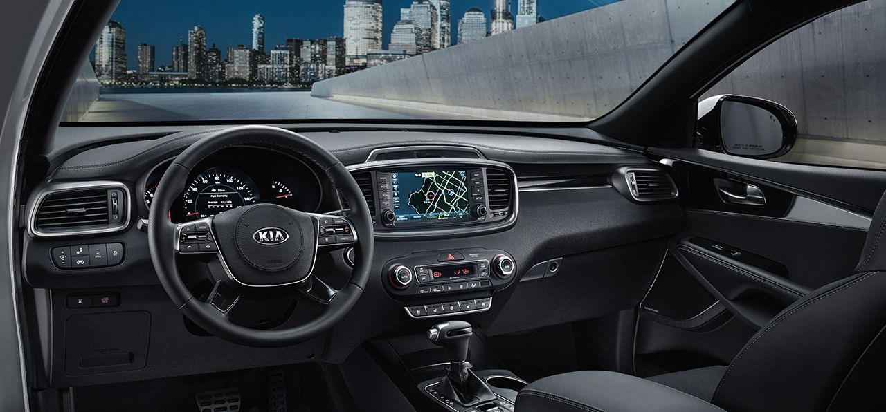 The Sorento's Dashboard Is Loaded with Options!