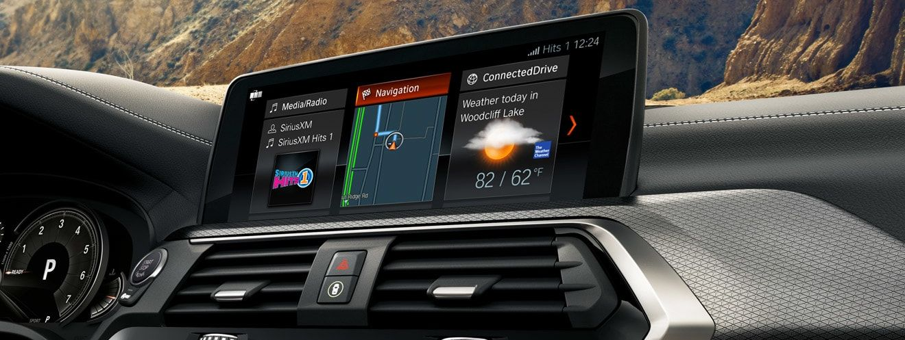 2019 BMW X3 Infotainment Center