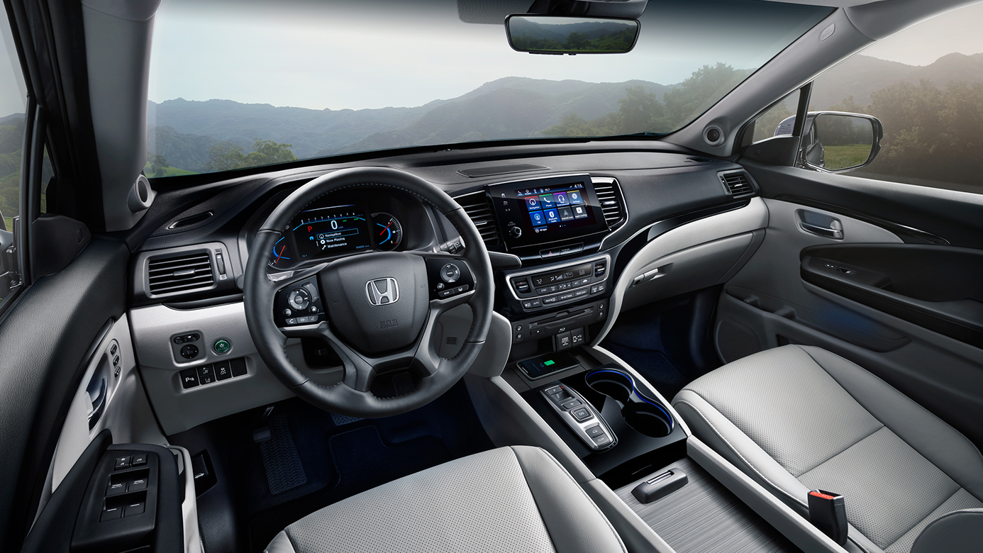 Interior of the 2019 Honda Pilot