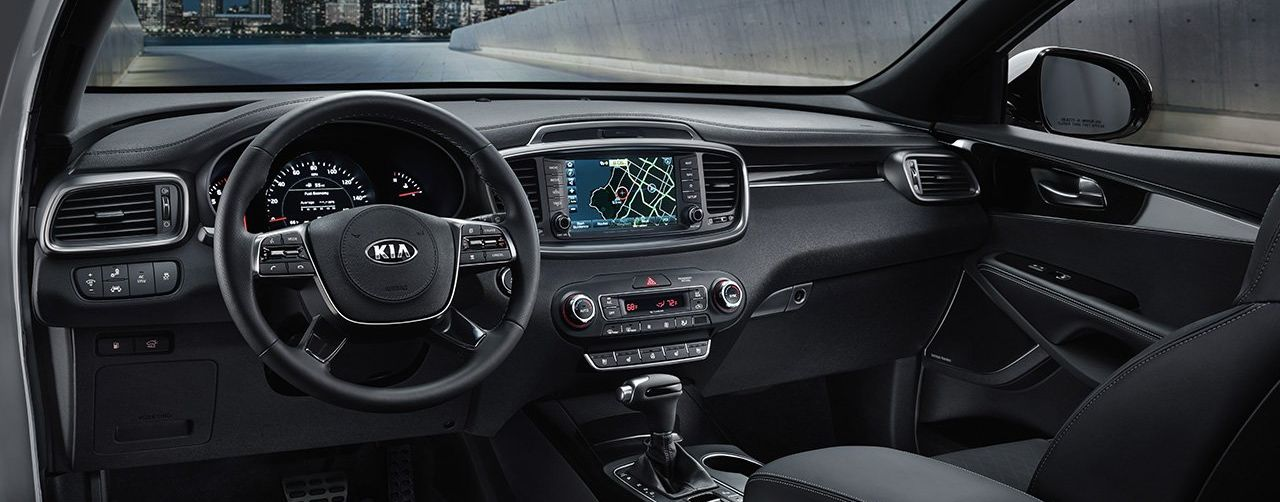The Sorento's Loaded Dashboard