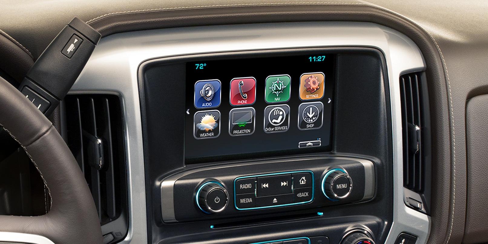 Hi-Tech Amenities in the 2019 Silverado 1500!