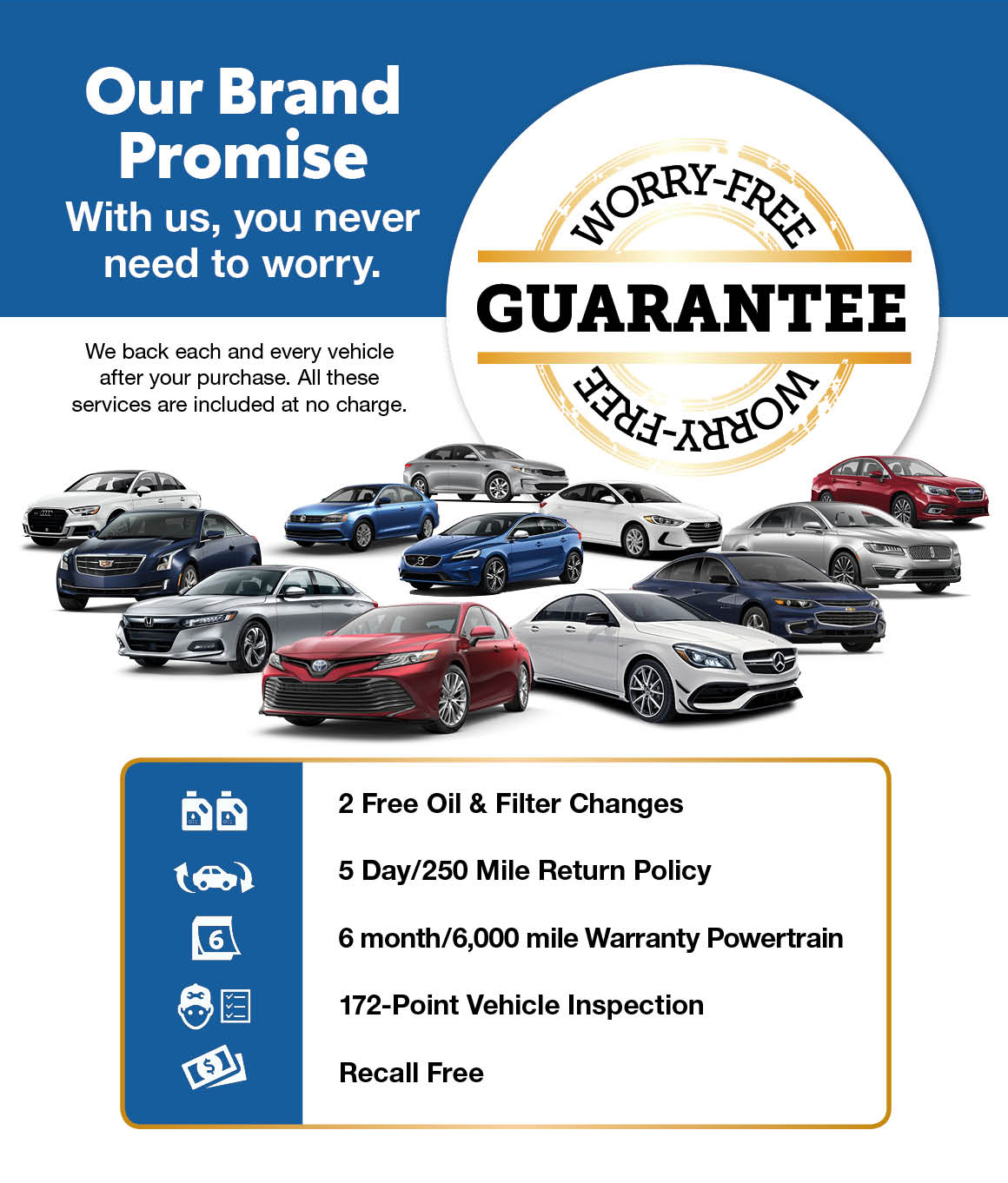 Our Brand Promise Grossinger Auto Group