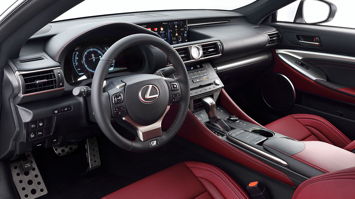 Available Interior for the RC F