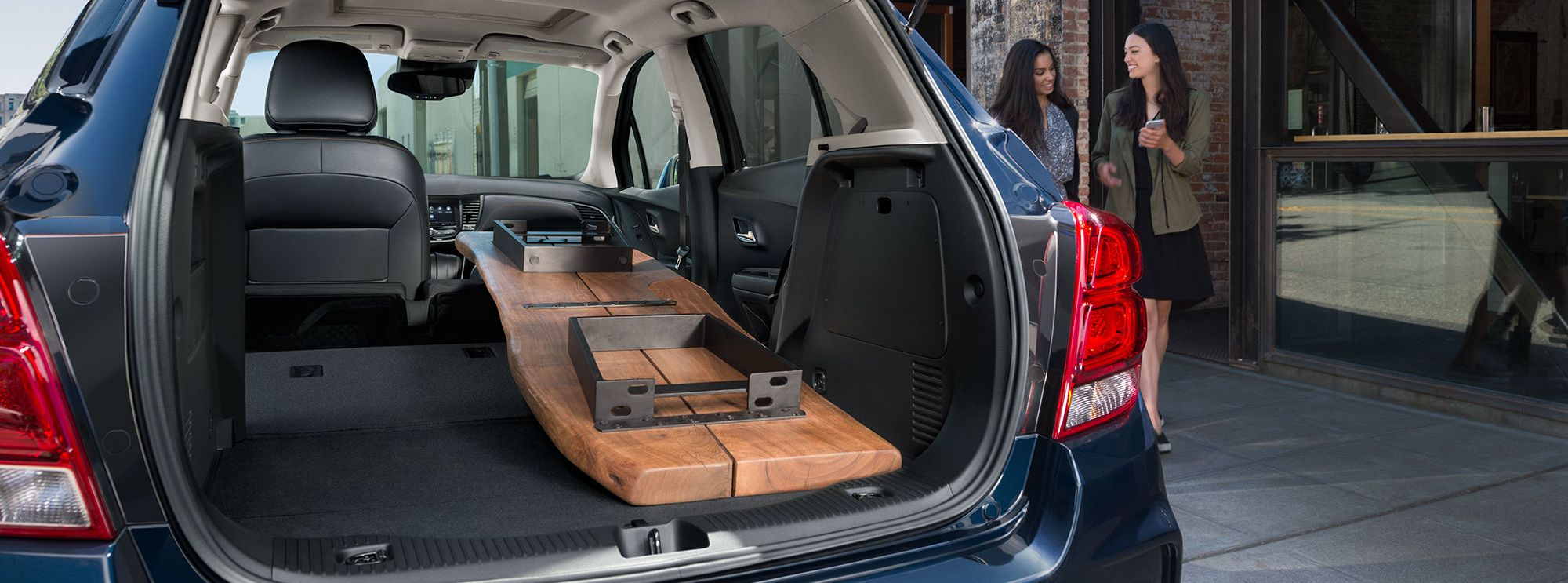 Generous Capacity Thanks to the Trax's Fold-Down Seating!