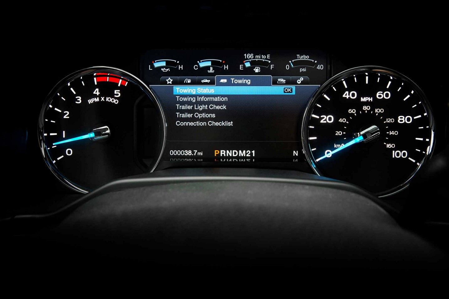 View Important Vehicle Information As You're Cruising!