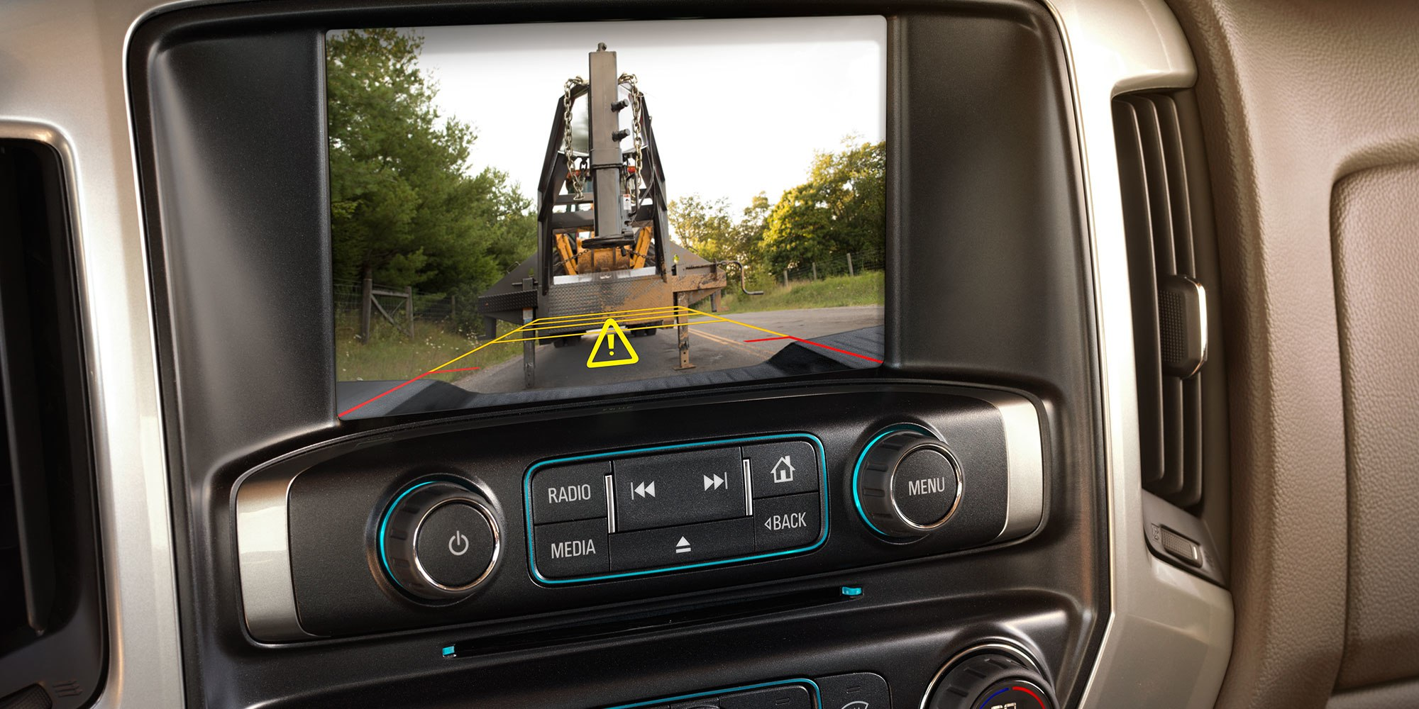 Reverse Safely with the Silverado 3500HD's Rear Vision Camera