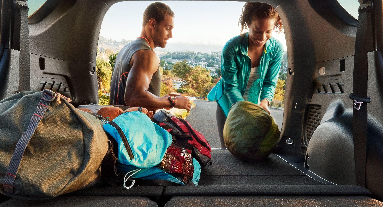 Easy Storage in the Toyota RAV4