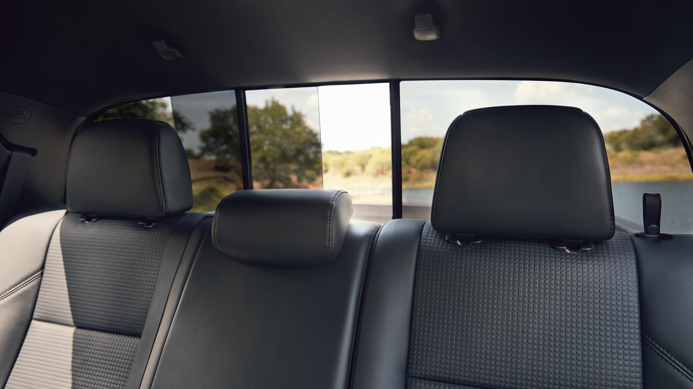 2019 Tacoma Rear Seating