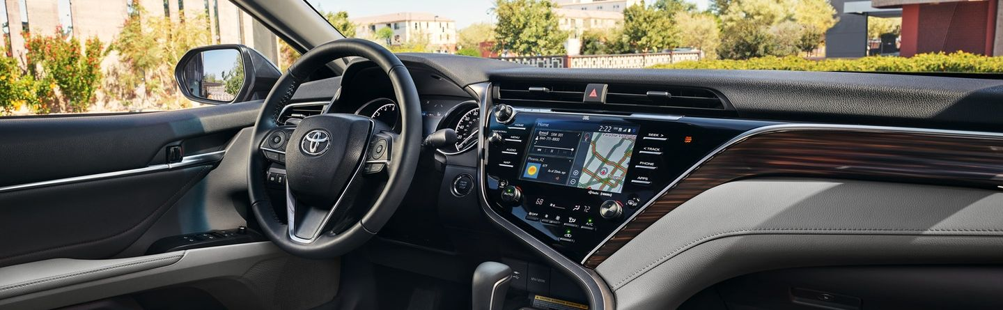 Advanced Cabin of the Toyota Camry