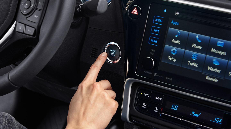 Push Button Start in the Toyota Corolla