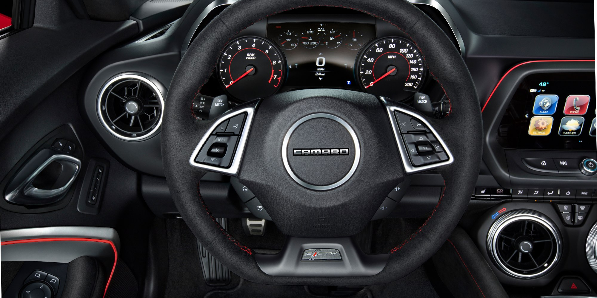 Power at Your Command in the Camaro's Cockpit