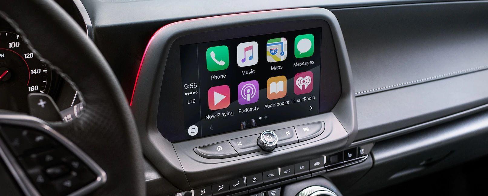 Convenient Connectivity in the Camaro!