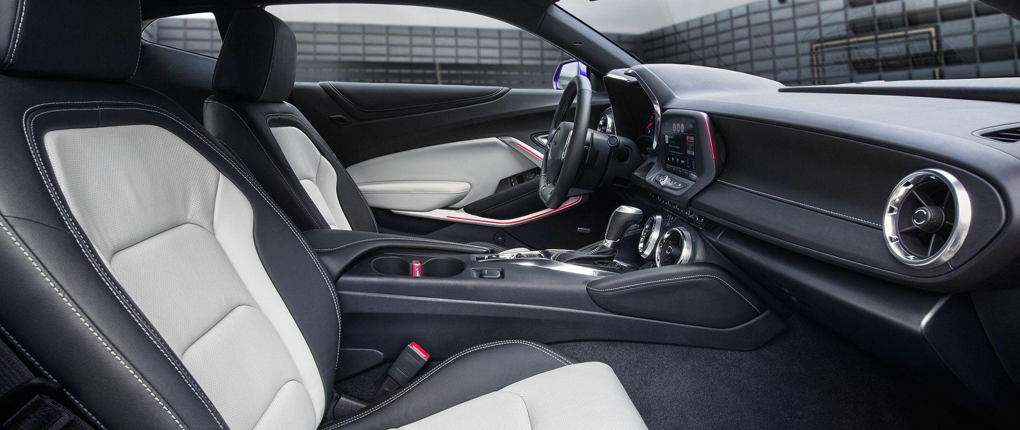 The Camaro's Stylish, Sporty Seating