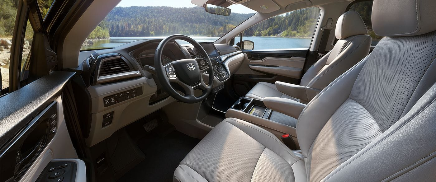Interior of the 2019 Honda Odyssey