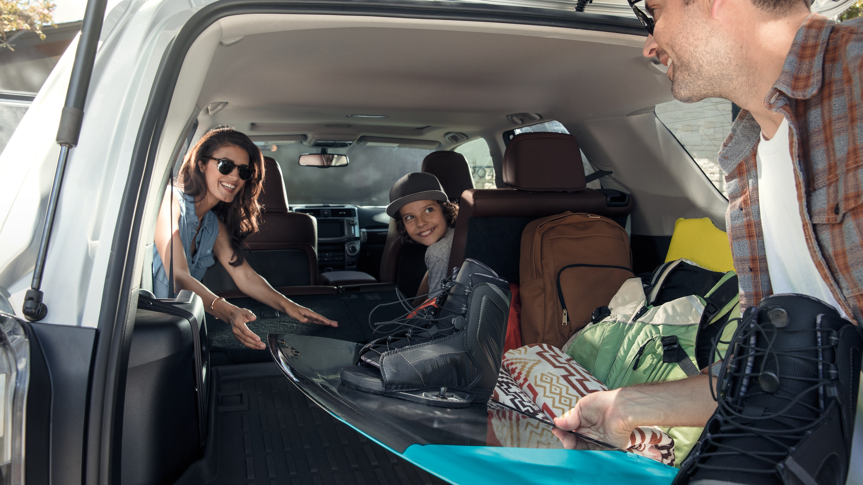 Enjoy the Storage Space of the 2019 4Runner!