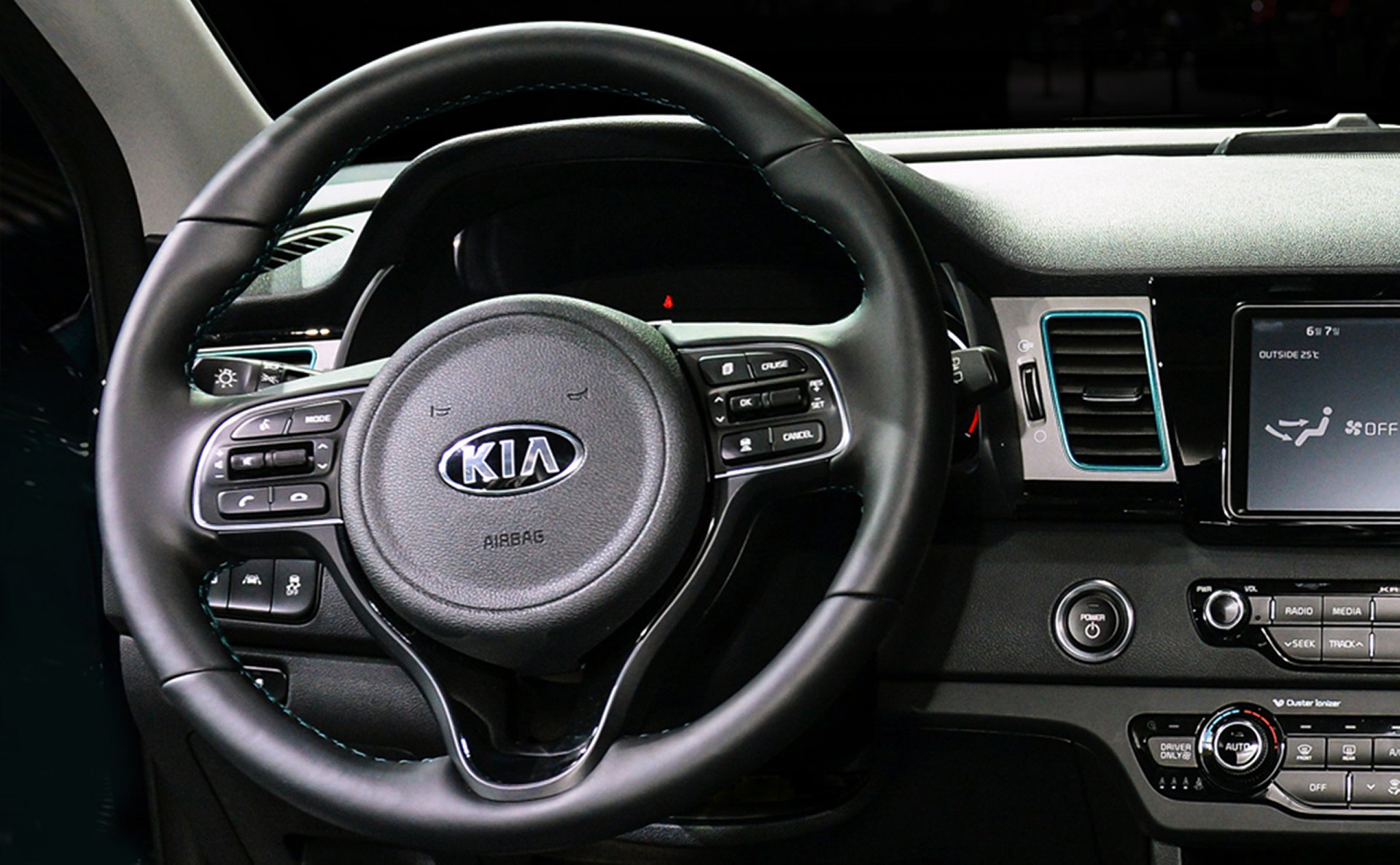 2019 Kia Niro EV Steering Wheel