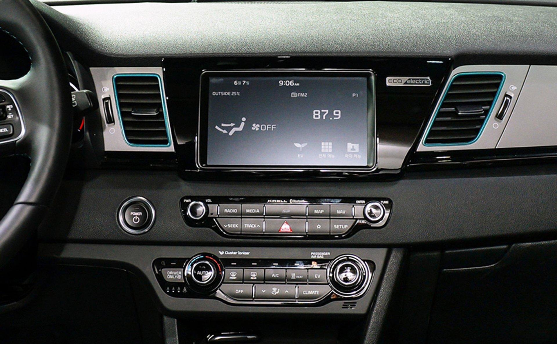2019 Kia Niro EV Center Console