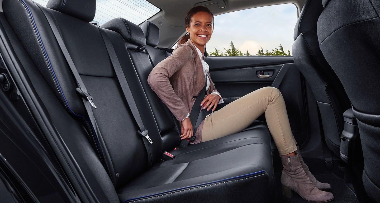 Spacious Interior of the 2019 Corolla