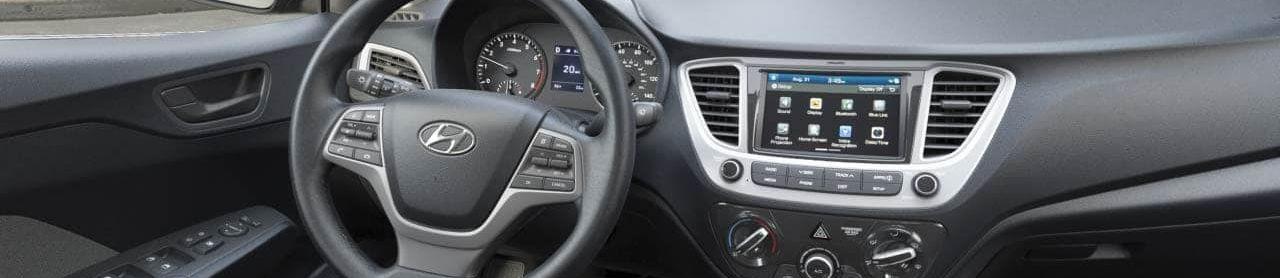 2019 Hyundai Accent Center Console