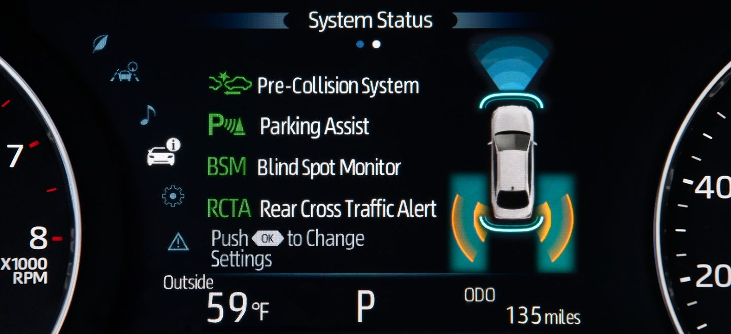 Toyota Safety Sense Technology in New Castle, DE