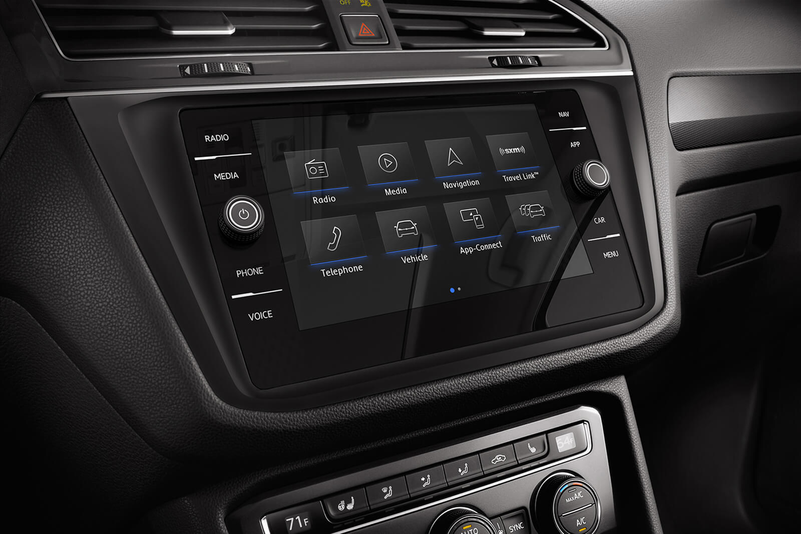 You'll Love the Tiguan's Great Infotainment Center!