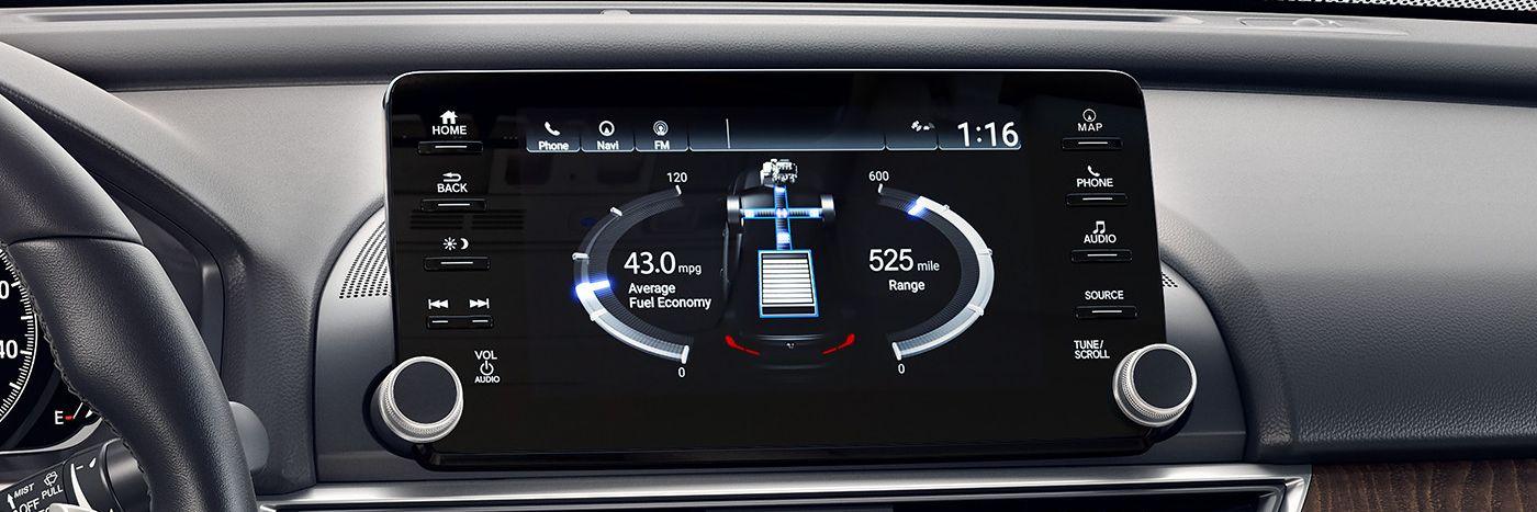 Tech-Loaded Interior of the 2018 Honda Accord