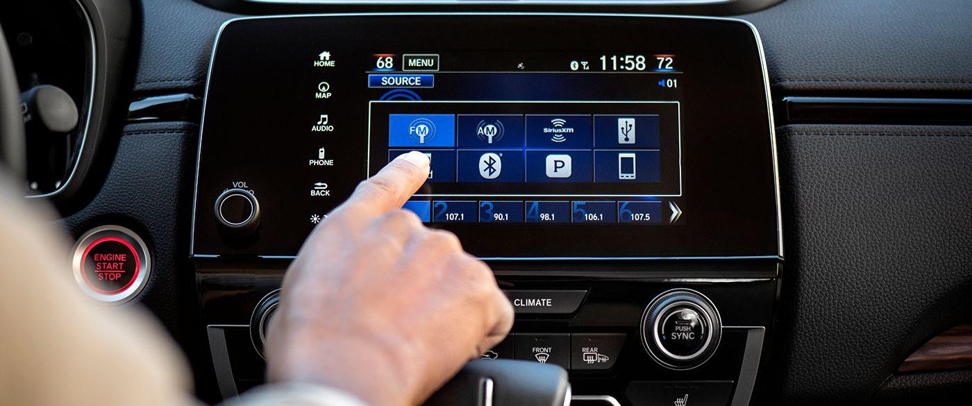 Plenty of Entertainment in the 2018 Honda CR-V!
