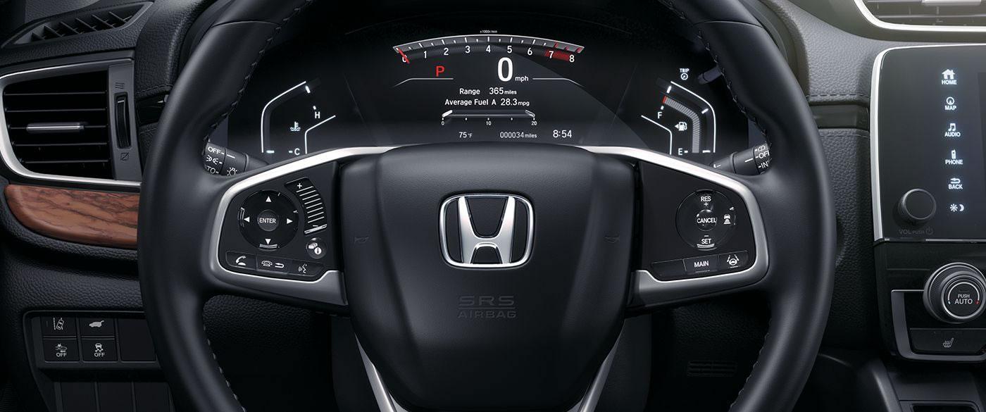 Interior of the 2018 Honda CR-V