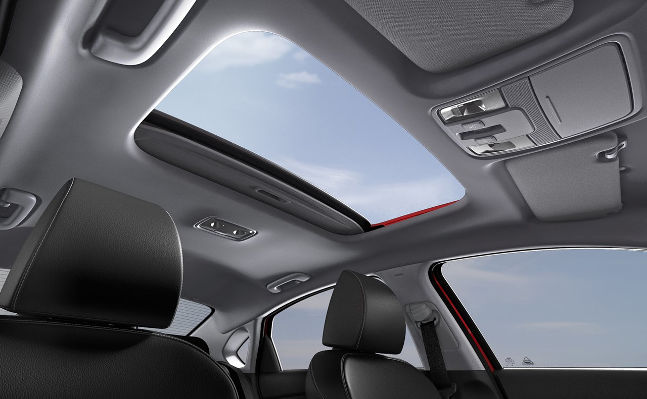 2019 Kia Forte Available Sunroof