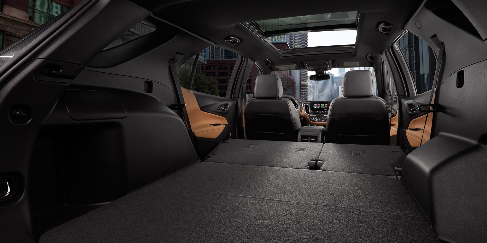 Load Up the Equinox's Huge Cargo Area!