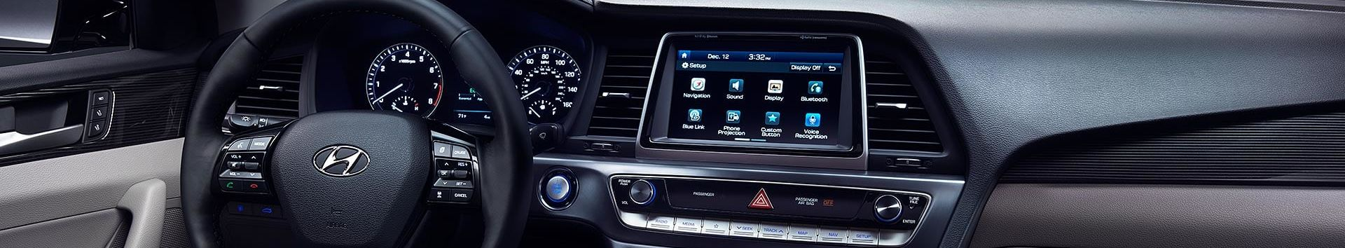 2018 Hyundai Sonata Center Console