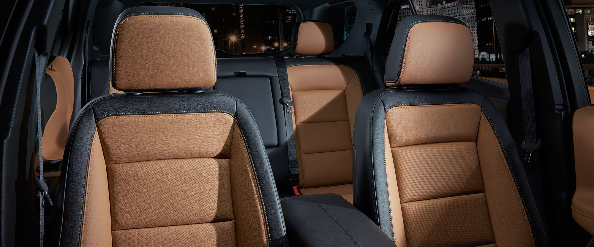 Luxurious Seating Options in the Equinox
