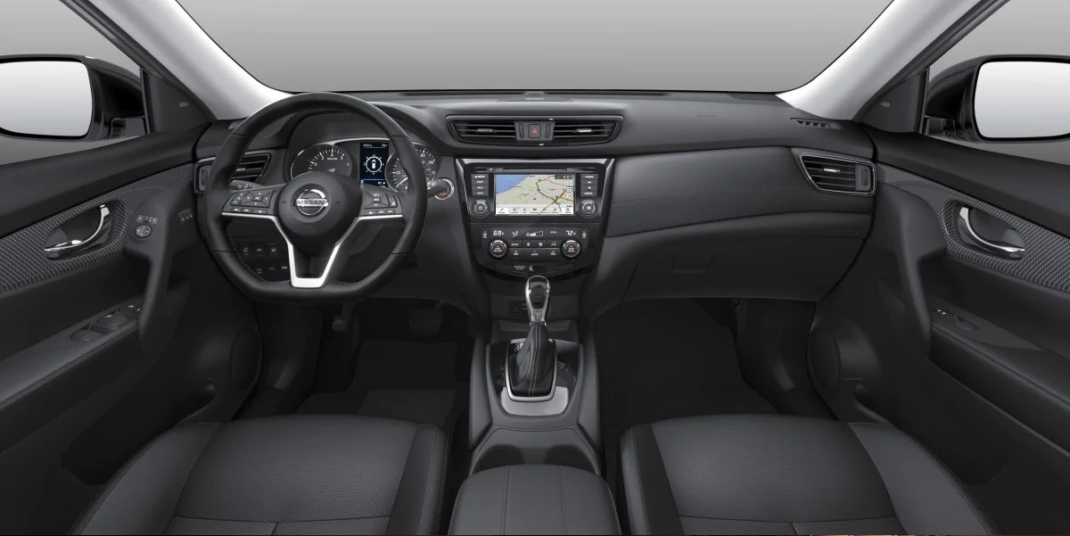 2019 Nissan Rogue Dashboard View