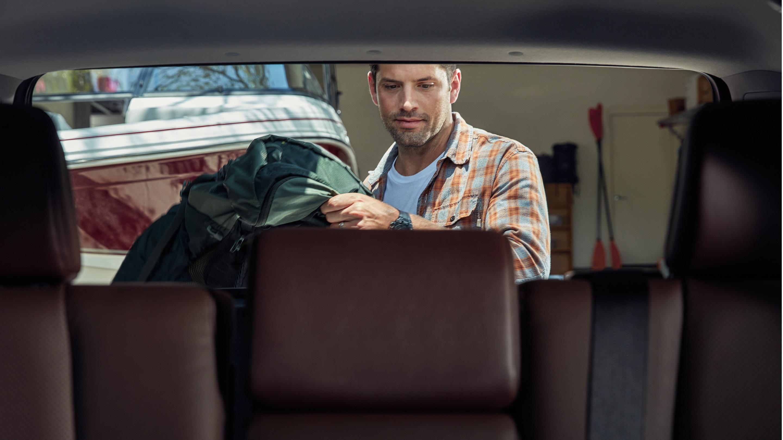 Interior of the 2019 Toyota 4Runner