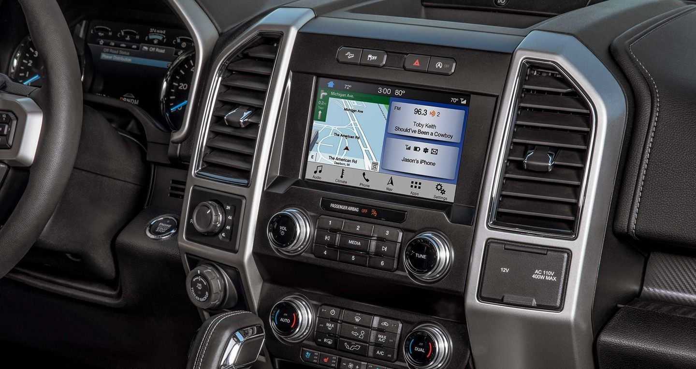 2019 Ford F-150 Center Console