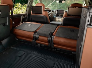 Cargo space in the 2019 Toyota Land Cruiser