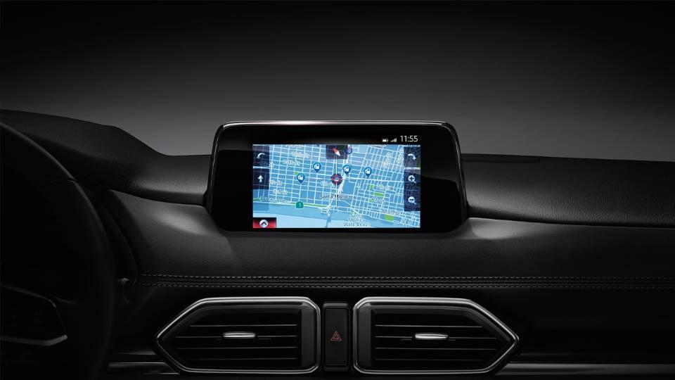 Technology-Driven Interior in the 2018 Mazda CX-5