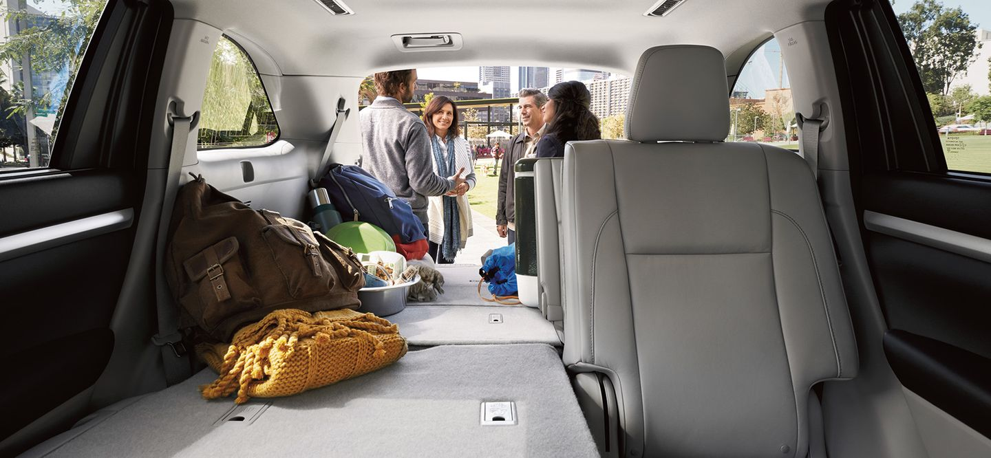 Cargo Space in the Highlander