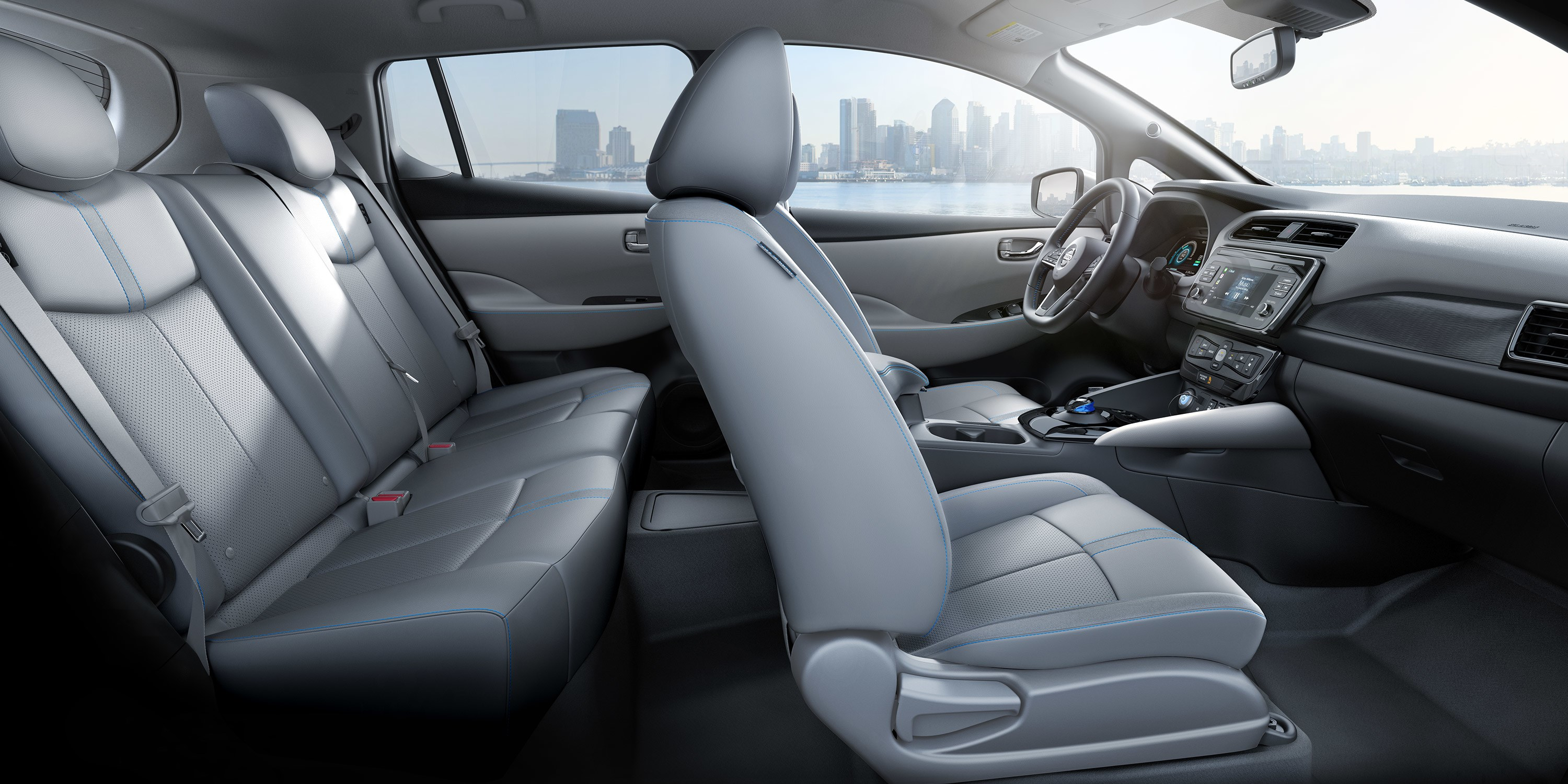 You'll Love the Spacious Interior of the LEAF!