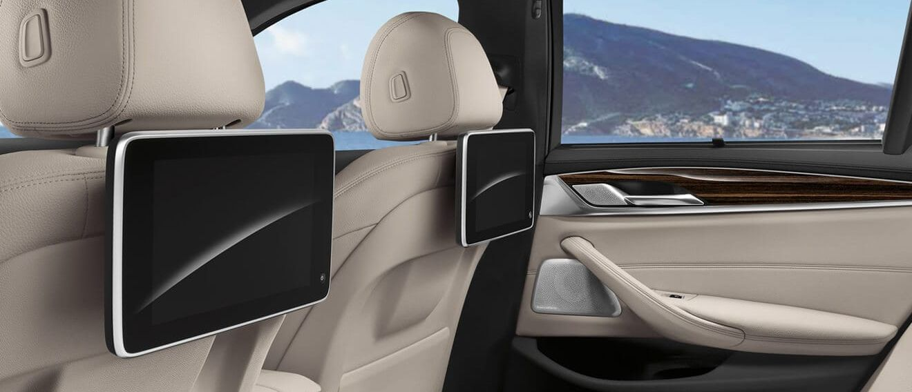 Interior Accommodations in the BMW 5 Series