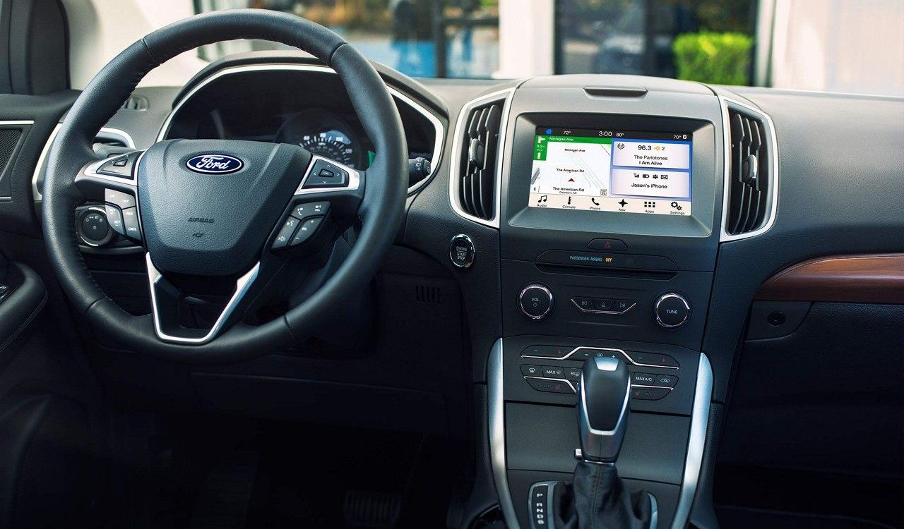 Interior of the Ford Edge