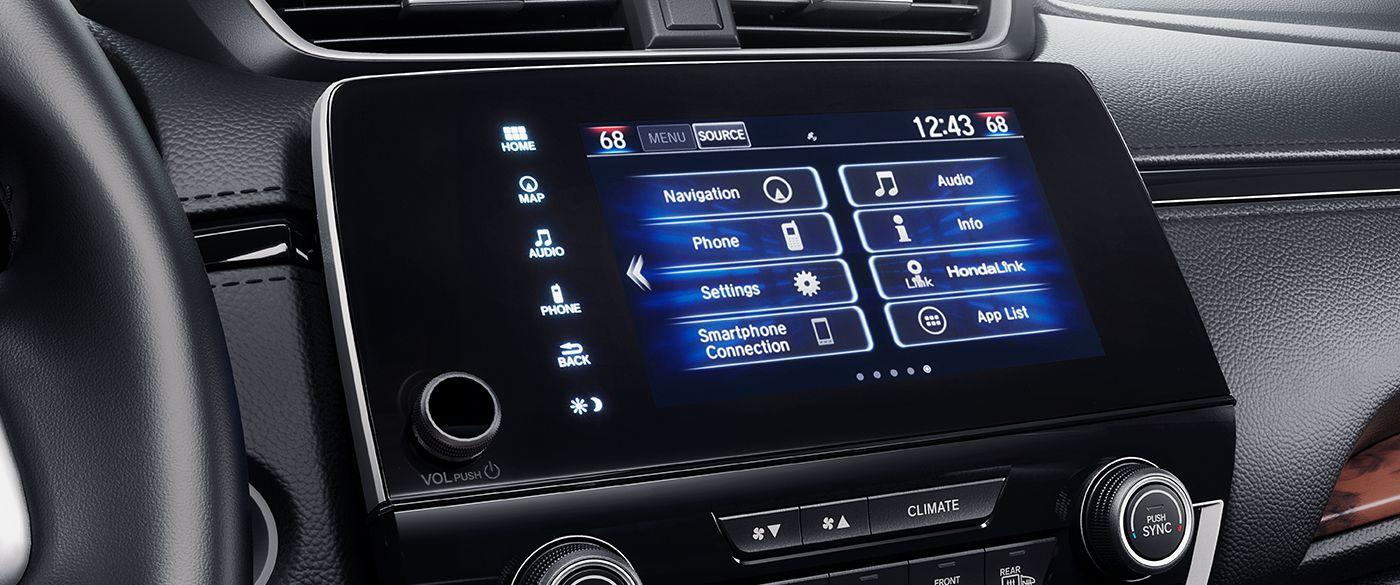 Tech-loaded Interior of the 2018 Honda CR-V