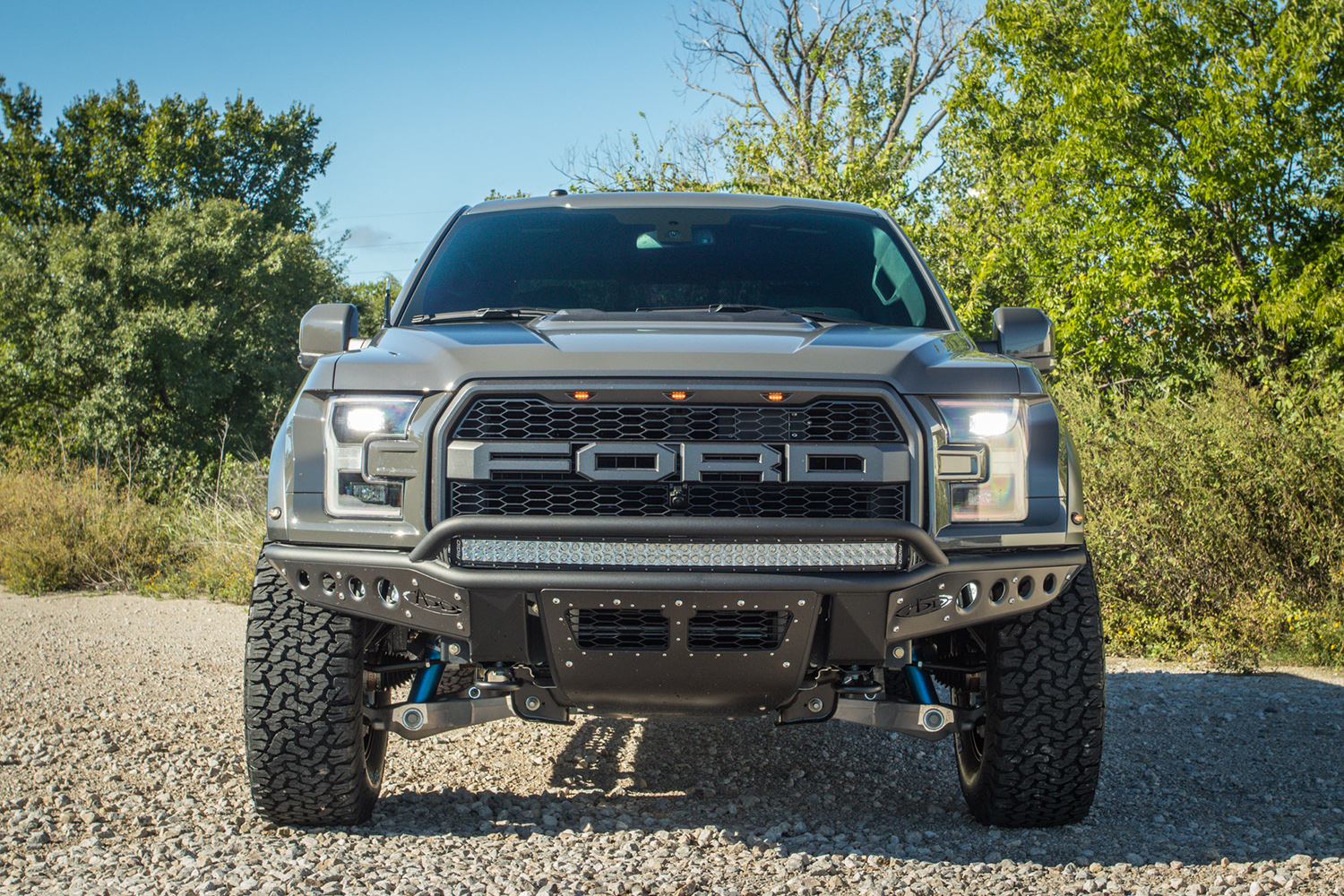 raptor f 150 with add stealth r bumpers custom 4x4 off road truck built by rad rides raptor f 150 with add stealth r bumpers