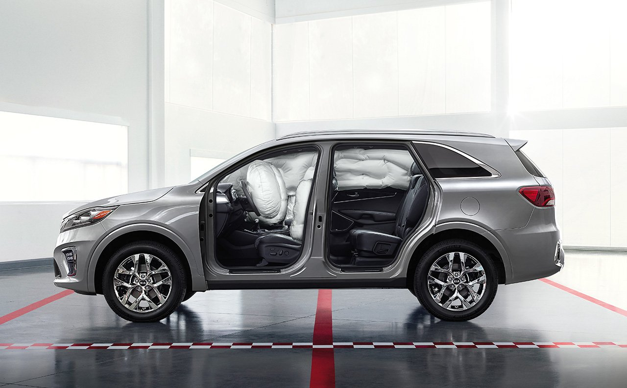 Feel Secure with the Sorento's Safety Features!