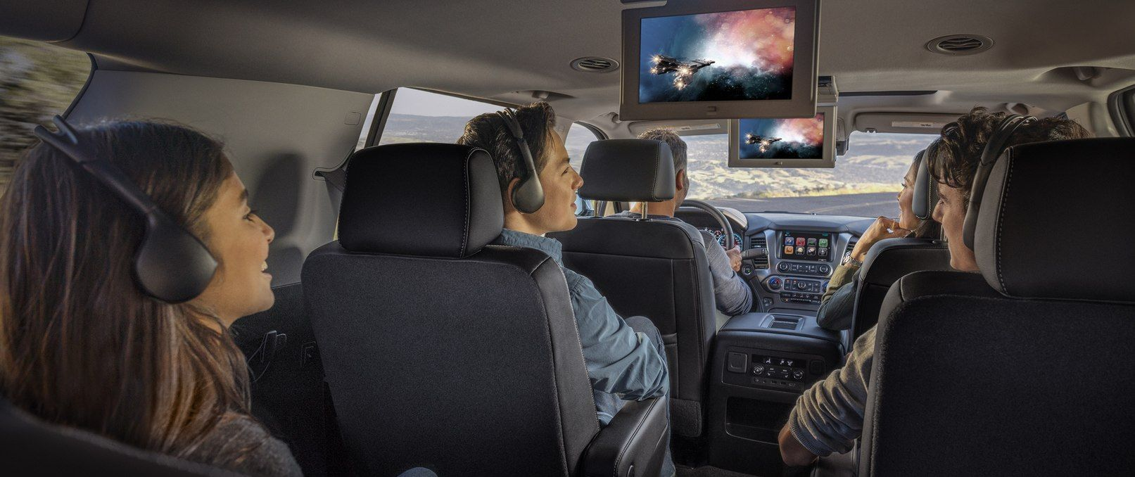 Stay Entertained in the 2019 Chevrolet Suburban!