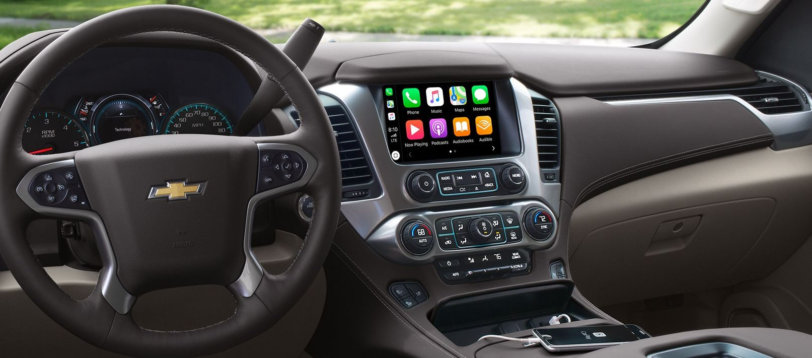 Technology in the Chevy Suburban