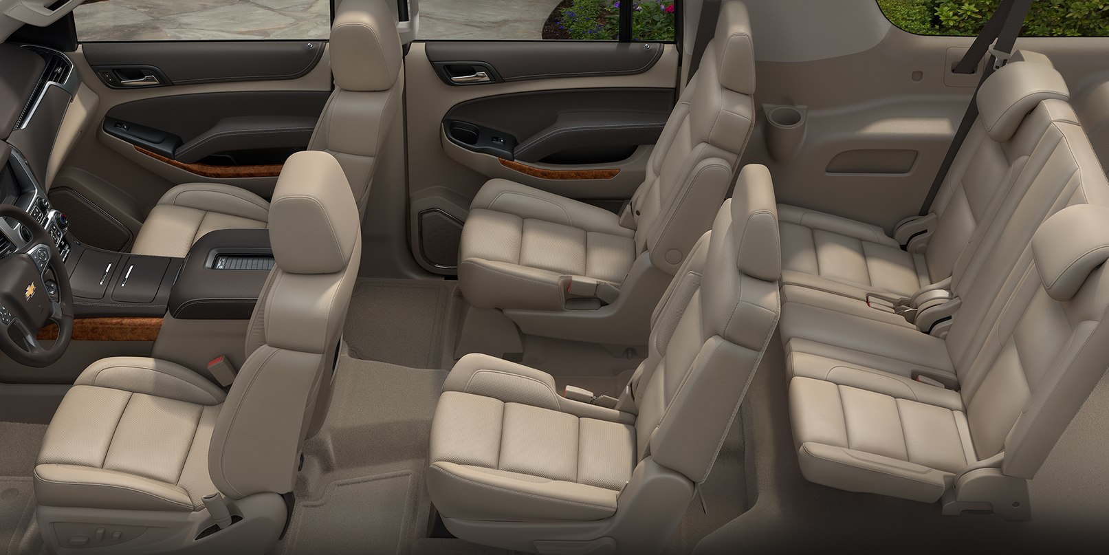 Spacious Cabin of the 2019 Suburban